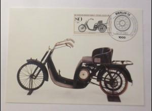 Maximumkarte Für die Jugend Historische Motorräder 1983 ♥