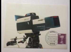 Maximumkarten Farbfernsehkamera 1982 ♥
