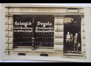 Berufe, Schuhe, Schuster, Schuhmacher, Leder-Zentrale Heinrich Droste (7349)