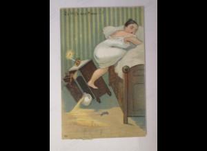 """""""Frauen, Töpfchen, Kerze, Maus"""" 1907 ♥ (3355)"""