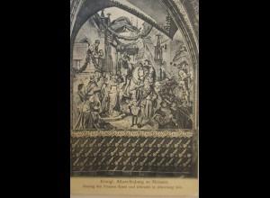 Ritter, Einzug Prinzen Ernst und Albrecht in Altenburg 1455