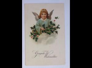Weihnachten, Engel, Disteln, 1928 ♥ (51186)