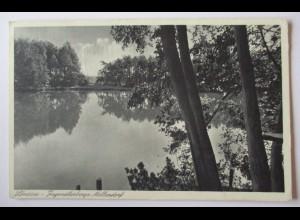 Mellendorf Lönssee, Jugendherberge, 1946 aus Hannover