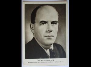 Österreich, Alfred Migsch, SPÖ, Bundesminister, 50er Jahre