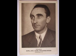 Österreich, Staatssekretär Karl Waldbrunner, 50er Jahre (30502)