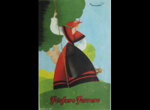 """Fosforo Ferrero, Landschaft, Frauen, Trachten"" ca.1920 ♥"