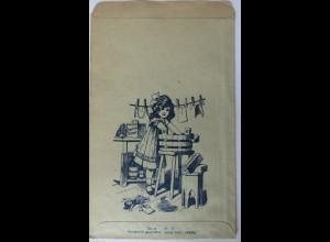 Werbung-Reklame, Quillayarinde Seifenholz, original Tütchen