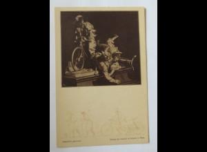 """""""Fahrrad, Frauen"""" 1900, Gerlach & Schenk in Wien ♥ (31396)"""