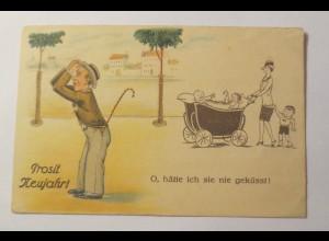 Frauen, Männer, Kinder, Mode, Kinderwagen, 1929 ♥ (29191)
