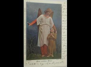 """Schutzengel, Kinder"" 1904 ♥ (15043)"