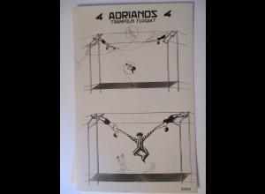 Zirkus, 4 Adrianos, Trampolin Flugakt, ca. 1940 ♥ (10271)