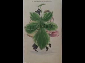 Erotik, Frauen, Männer, Mode, Zensur, 1910 ♥ (16583)