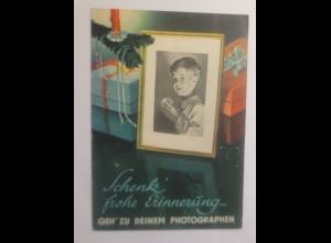 Werbung, Geh´zu deinem Photographen, Schenk Frohe Erinnerung, 1945 ♥