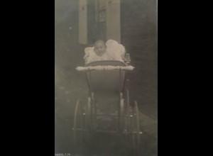 Fotokarte, Kinder, Kinderwagen, 1907 ♥ (16557)