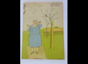 Fliegende Blätter Humor, Frühling, 1940, Eugen Kirchner ♥