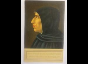 Girolamo Savonarola, Dominikaner Bußprediger Florenz Italien, 1910 ♥