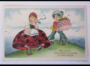 Kinder, Mode, Katze, Geschenke, 1932 ♥ (45157)