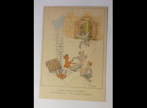 Teufel & Engel, Jenseits von gut und böse, 1940, Will Halle ♥ (70963)