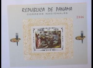 Panama Block Tintoretto Aereo Malerei ♥ (49871)