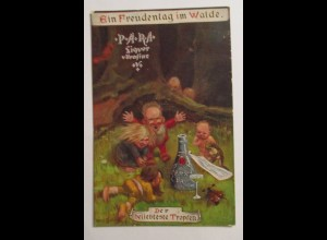 Zwerge, Wichtel, Frosch, Maikäfer, Ein Freudentag im Walde 1919 ♥ (36109)