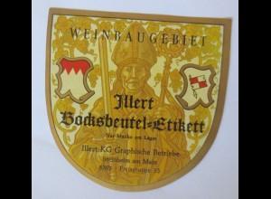 Weinetiketten, Weinbaugebiet Jllert KG,Steinheim am Main ♥