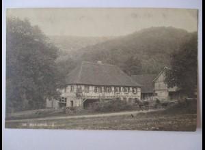 Bauernhof im Weilertal, Fotokarte