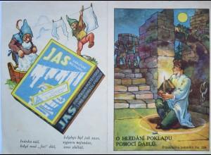 Zwerge, Waschmittel, Werbung, Reklame, 1945 ♥ (16794)