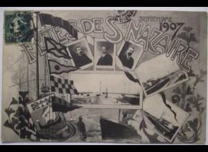 Frankreich St. Nazaire, Fetes de St.Nazaire 1907