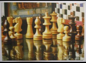 Schach Chess, Partie Christen-Dr. Erdelyi, Sonderkarte mit SST 1998