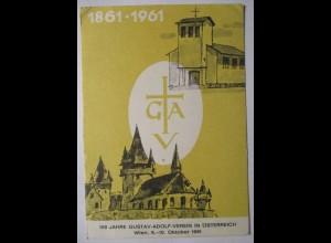 Österreich 100 Jahre Gustav-Adolf Verein Wien 1961 (3676)
