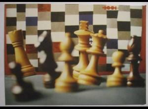 Schach Chess, Partie Lewitzky-Marshall Sonderkarte mit SST 1998