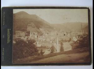 Lambrecht, frühes Foto 1887, Stadtansicht