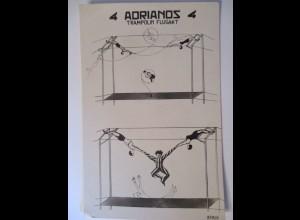 Zirkus, Theater, Varieté, 4 Adrianos, Trapez-Trampolin ♥ (12057)