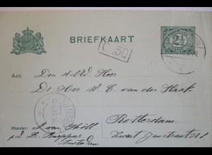 Niederlande, Ganzsache 1910 (8725)
