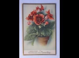Namenstag, Blumen, 1956 ♥ (72004)