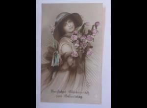 Geburtstag, Frauen, Mode, Rosen, Hutmode, 1921 ♥ (56487)