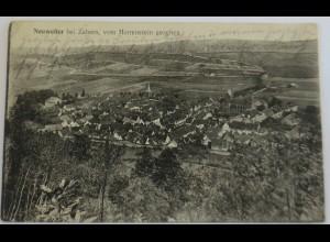 Neuweiler bei Zabern, Ortsansicht, Feldpost 1916 nach Groß Hettingen