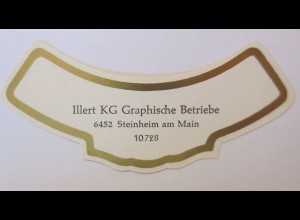 Weinetiketten, Muster, Illert KG, Graphische Betriebe,Steinheim am Main ♥