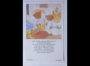 Sammelbild, Bären, Teddy, 1950, Ida Bohatta Morpurgo ♥