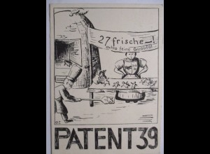 Aarau, Patent 39, Bäcker Lebkuchen 1939