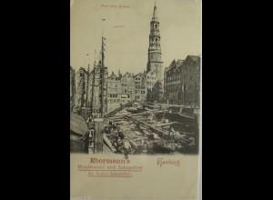 """""""Zahnarzt, Zähne, Dentist""""1900, Ebermann Mundwasser, Zahnpulver, Hamburg♥"""