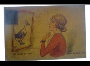 """""""Frauen, Spiegel"""" 1930, Halt gegen das Licht ♥ (14727)"""