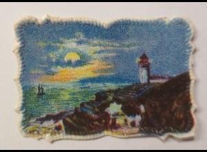 Oblaten, Meer, Leuchtturm, 4,5 cm x 3 cm ♥ (22649)
