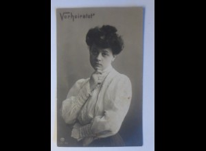 Verheiratet, Frauen, Mode, 1906 ♥