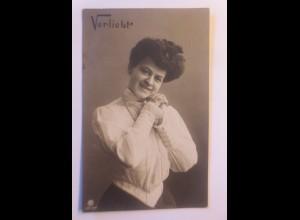 Verliebt, Frauen, Mode, 1906 ♥