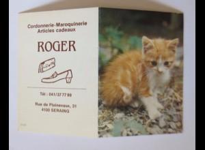 """""""Katzen, Taschenkalender, Werbung"""" Jahr 1987 ♥"""