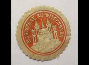 Vignetten, Verschlußmarken, Magistrat zu Wittenberg ♥ (30838)