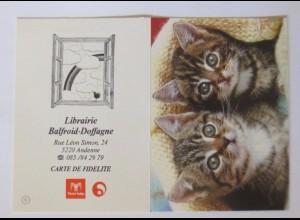 """""""Katzen, Taschenkalender, Werbung"""" Jahr 1990 ♥"""