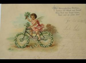 """""""Fahrrad, Engel"""" 1900 ♥ (17807)"""