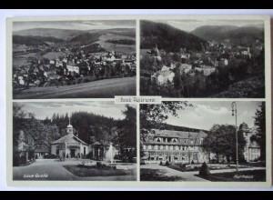 Polen, Schlesien, Bad Reinerz, Mehrbildkarte